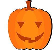 """Halloween images """"Sly Pumpkin"""" Photographic Print"""