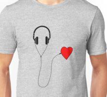 Listen your heart Unisex T-Shirt