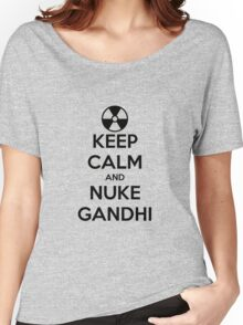 nuclear Gandhi! Women's Relaxed Fit T-Shirt