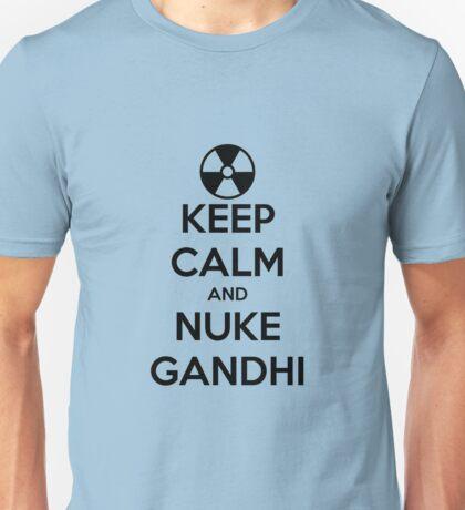 nuclear Gandhi! Unisex T-Shirt