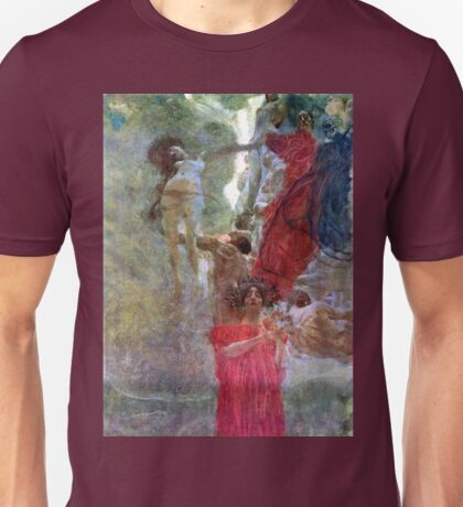 Gustav Klimt Composition for Medicine Unisex T-Shirt