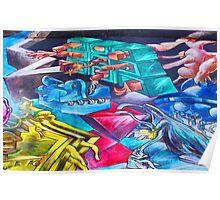 Graffiti Toons Poster