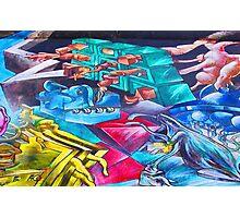 Graffiti Toons Photographic Print