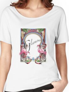 Glamour Women's Relaxed Fit T-Shirt