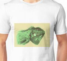 Colorful iguana watercolor painting Unisex T-Shirt