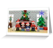 Merry Christmas From Us All  Greeting Card