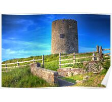 Portaferry Windmill Poster