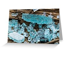 Shatter Proof Glass Greeting Card