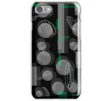 Come down - green iPhone Case/Skin