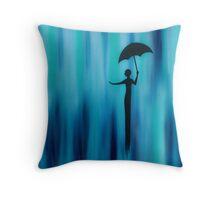 Blue Rain Home Decor Throw Pillow