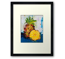 The Lone Pineapple Framed Print