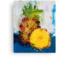 The Lone Pineapple Canvas Print