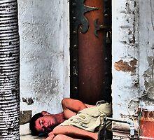 homeless - sin hogar by Bernhard Matejka
