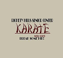 Rickety Hills Senior Center Karate by Weber Consulting
