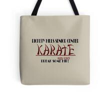 Rickety Hills Senior Center Karate Tote Bag