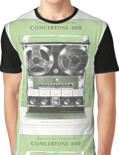 Tape Recorder Graphic T-Shirt