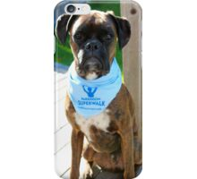 Parkinson SuperWalk Team Mascot iPhone Case/Skin