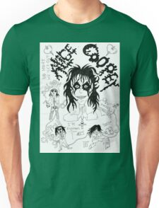 Alice Cooper doodles Unisex T-Shirt