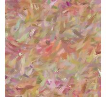 Abstract pastel brush strokes Photographic Print