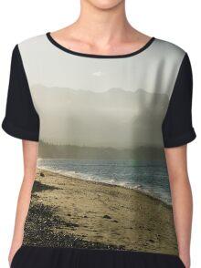 Walk on the Beach Chiffon Top
