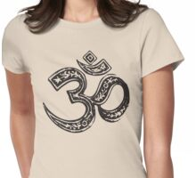 Old Om Womens Fitted T-Shirt