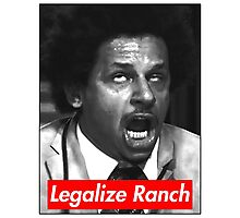 Legalize Ranch - Red - Eric Andre Picture Photographic Print