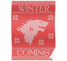 Winter Is Ugly Sweater Poster