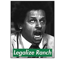 Legalize Ranch - Green - Eric Andre Picture Photographic Print