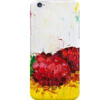 Slice of Raspberry iPhone Case/Skin