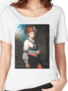 Thayendanegea-Joseph Brant Women's Relaxed Fit T-Shirt