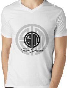 TSM Mens V-Neck T-Shirt