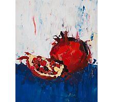 The Dark Pomegranate Photographic Print
