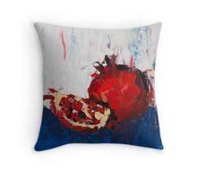 The Dark Pomegranate Throw Pillow