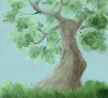 Under the tree by Frojhe