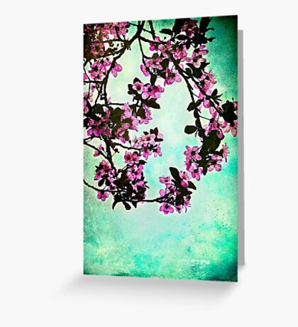 As blossoms bloom Greeting Card
