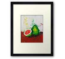 What is a Pomelo? Framed Print