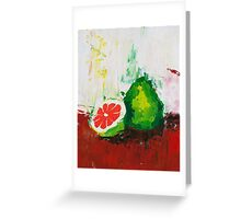 What is a Pomelo? Greeting Card