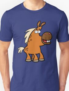 Cartoon Palomino Stud by Cheerful Madness!! Unisex T-Shirt