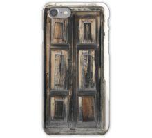 Peeling Painted Door iPhone Case/Skin