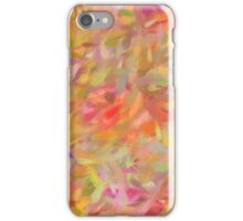 Bright brush strokes, abstract iPhone Case/Skin