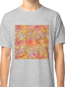 Bright brush strokes, abstract Classic T-Shirt