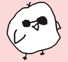 badly drawn bird with sunglasses One Piece - Short Sleeve