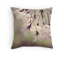 The Beauty of Weeping - Weeping Cherry Throw Pillow