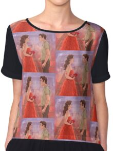 My world Women's Chiffon Top