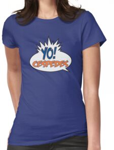 Yo! Cespedes - New York Mets #52 Womens Fitted T-Shirt