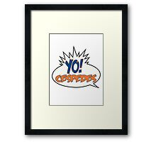 Yo! Cespedes - New York Mets #52 Framed Print