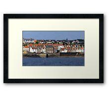 Seafront Terrace Framed Print
