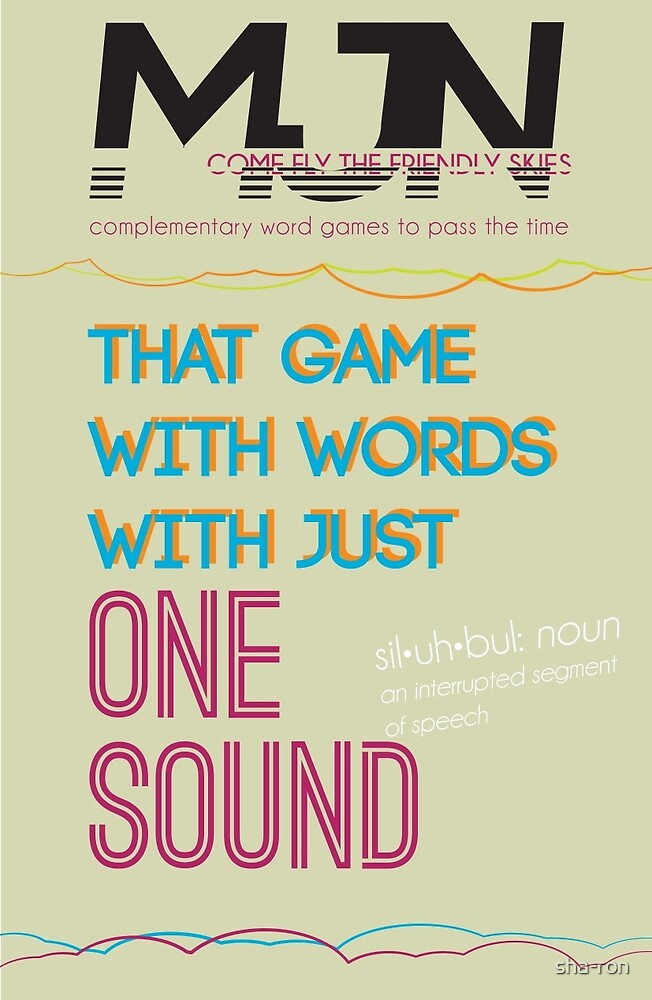 MJN Air: Word Games #4 by sha-ron