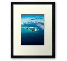 Gateway to Paradise Framed Print