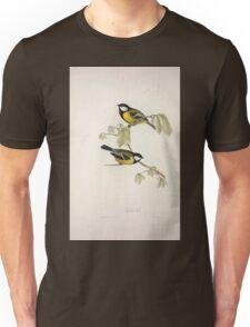 John Gould The Birds of Europe 1837 V1 V5 150 Great Tit Unisex T-Shirt